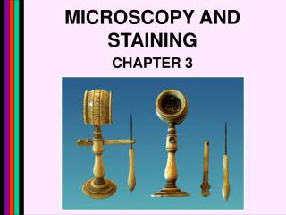 MICROSCOPY AND STAINING