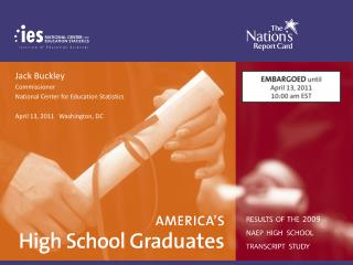 America's High School Graduates