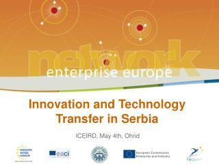 Innovation and Technology Transfer in Serbia