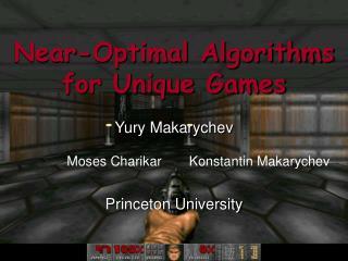 Near-Optimal Algorithms for Unique Games
