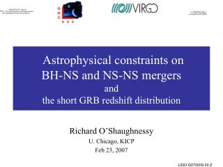 Astrophysical constraints on  BH-NS and NS-NS mergers and  the short GRB redshift distribution