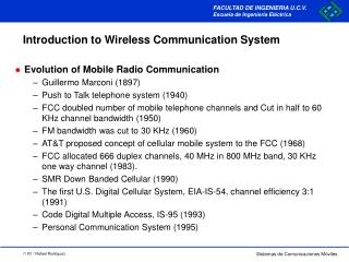 Introduction to Wireless Communication System