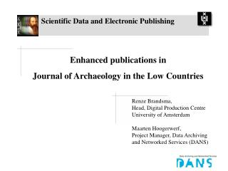 Scientific Data and Electronic Publishing