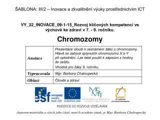 VY_32_INOVACE_09-1-15_Rozvoj kl�?ov�ch kompetenc� ve v�chov? ke zdrav� v 7. - 9. ro?n�ku.