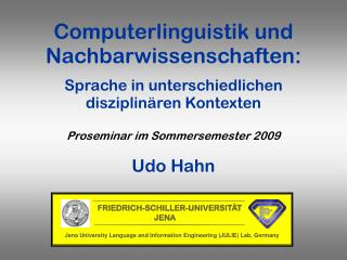 Udo Hahn