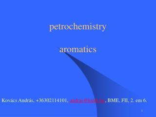 petrochemistry aromatics