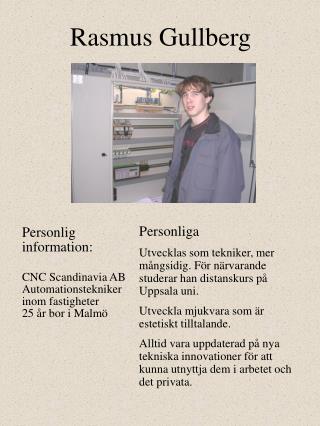 Rasmus Gullberg