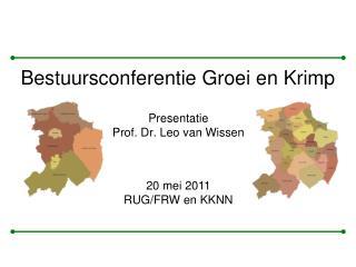 Presentatie Prof. Dr. Leo van Wissen