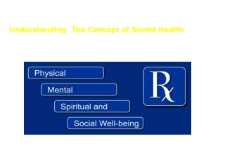 Understanding  The Concept of Sound Health