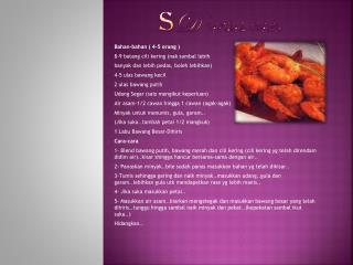 S D sambal udang