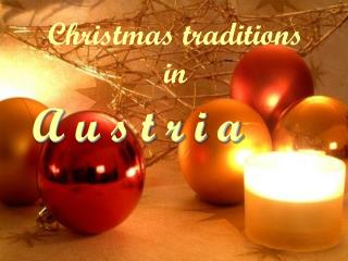 Christmas traditions in