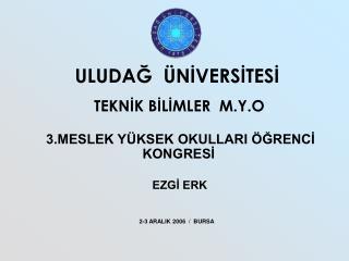 EZGİ ERK                                                          2-3 ARALIK 2006  /  BURSA