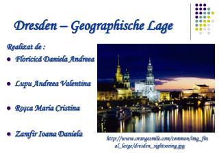 Dresden – Geographische Lage