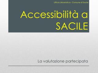Accessibilit� a SACILE