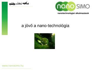 a jövő a nano-technológia