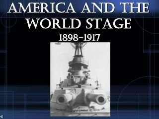 America and the World Stage