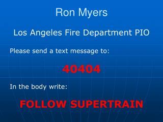 Ron Myers