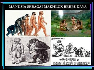 MANUSIA SEBAGAI MAKHLUK BERBUDAYA