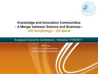 European Economic Conference – Katowice 17/05/2011