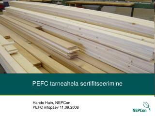 PEFC tarneahela sertifitseerimine