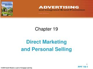Direct Marketing  and Personal Selling