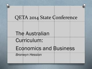 QETA 2014 State Conference