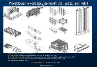 Projektowanie koncepcyjne konstrukcji przez  architekta