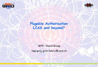 Plugable Authorisation LCAS and beyond?