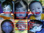 Pediatric Syndromal Hearing Loss