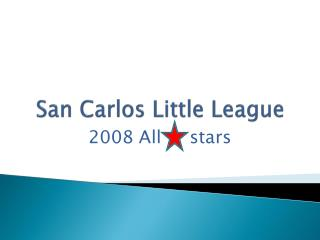 San Carlos Little League