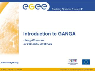 Introduction to GANGA