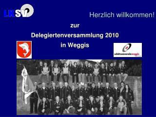 zur Delegiertenversammlung 2010 in  Weggis