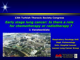 13th Turkish Thoracic Society Congress