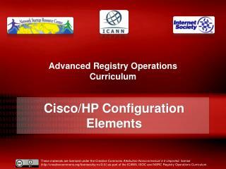 Cisco/HP Configuration Elements