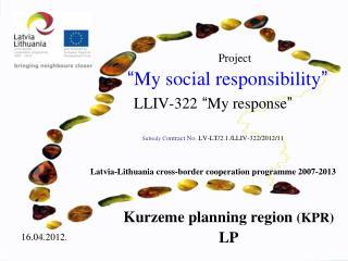 Kurzeme planning region (KPR) LP
