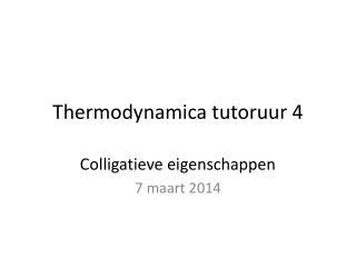 Thermodynamica  tutoruur  4
