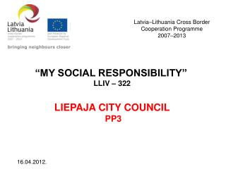 Latvia–Lithuania Cross Border  Cooperation Programme  2007–2013