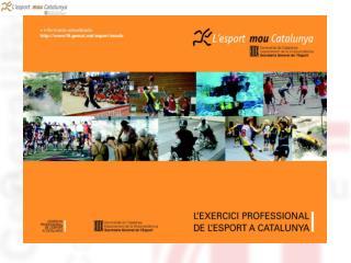 Regulació de l'exercici professional.