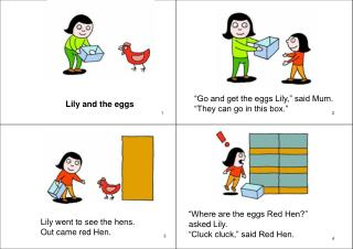 Lily and the eggs