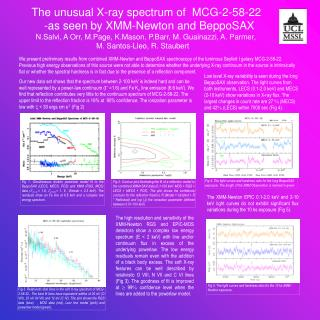 The unusual X-ray spectrum of  MCG-2-58-22  -as seen by XMM-Newton and BeppoSAX