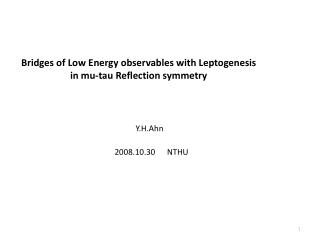 Bridges of Low Energy observables with Leptogenesis  in mu-tau Reflection symmetry