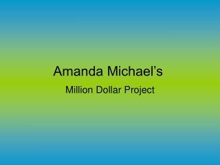 Amanda Michael's