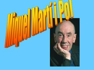 Miquel Martí i Pol