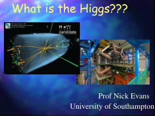 What is the Higgs???