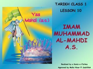 TARIKH CLASS 1 LE SSON 10