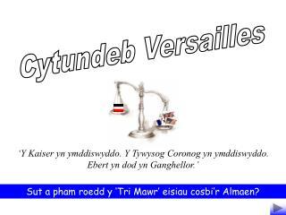 Cytundeb Versailles