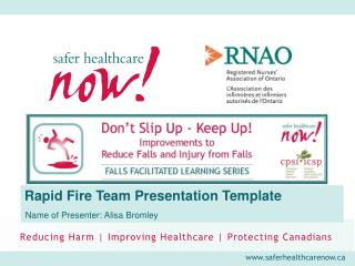Rapid Fire Team Presentation Template