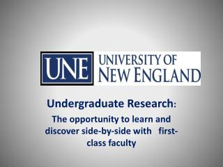 Undergraduate Research :