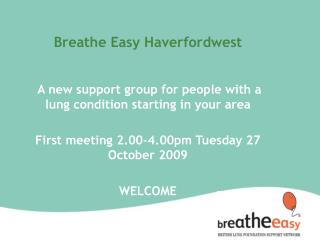Breathe Easy Haverfordwest