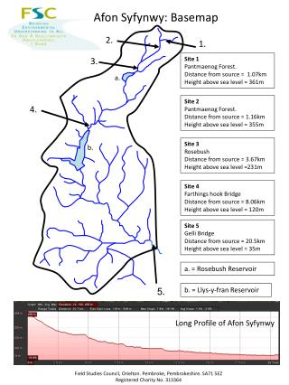 Site 1 Pantmaenog Forest.  Distance from source =  1.07km Height above sea level = 361m